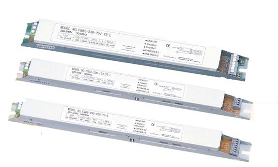 T5 linear flourescent lamps electronic ballast