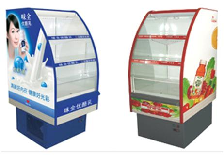 Drink display refrigerators