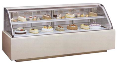 Cake display refrigerator